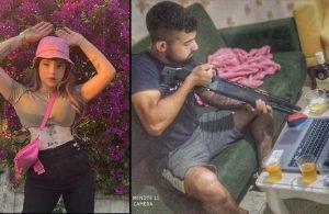 Sosyal medya fenomeni Başak Ermiş, oyuncu Can Topçu tarafından darp edildi!