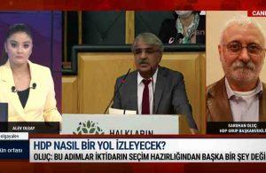Saruhan Oluç, HDP'nin B planını anlattı