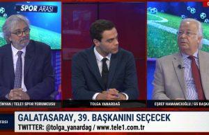 Galatasaray Başkan Adayı Eşref Hamamcıoğlu TELE1'de   SPOR ARASI