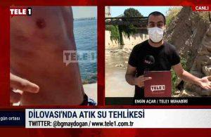 Atık sular Marmara'ya işte böyle akıyor