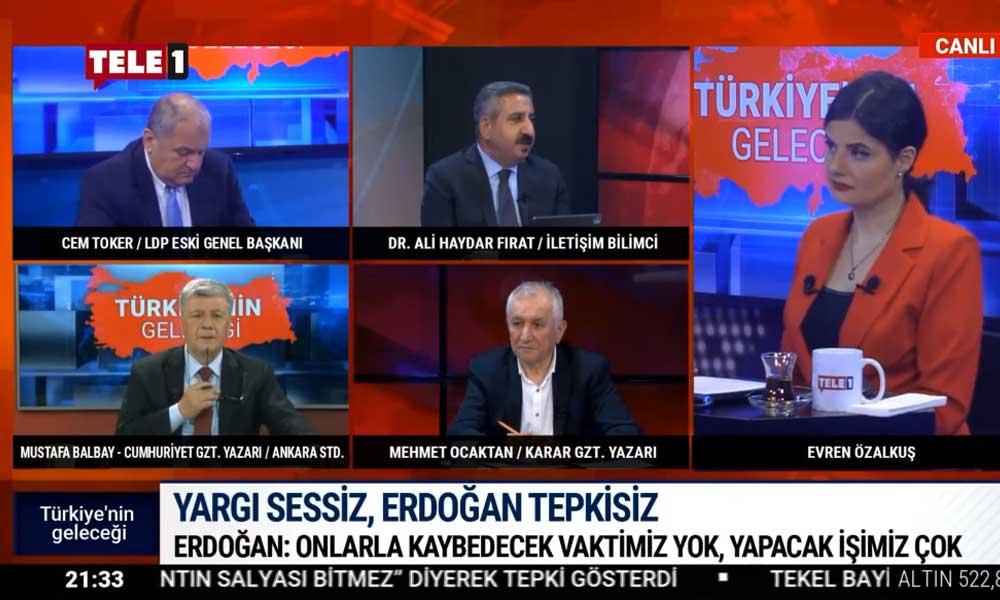 Yargı sessiz, Erdoğan tepkisiz