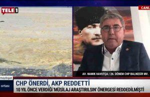 Bir AKP 'klasiği': 10 yıl önce verilen 'müsilaj araştırılsın' önergesi…