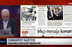 Can Ataklı: Erdoğan yenilgiyle döndü