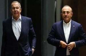 Çavuşoğlu ve Lavrov'dan Kanal İstanbul açıklaması