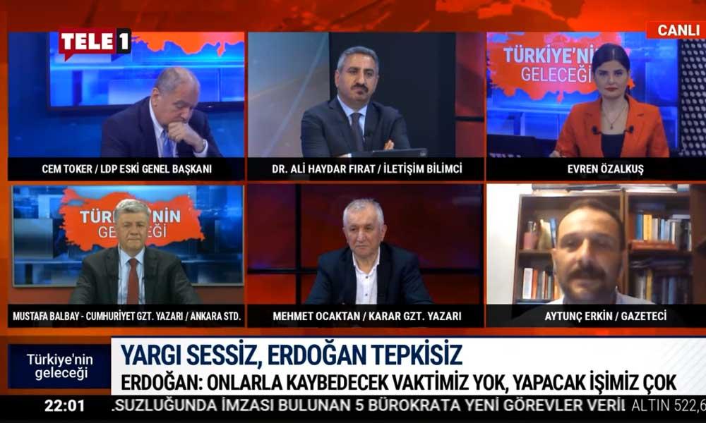 Gazeteci Aytunç Erkin: Mafya sistemi olduğu için ekonomi bu halde
