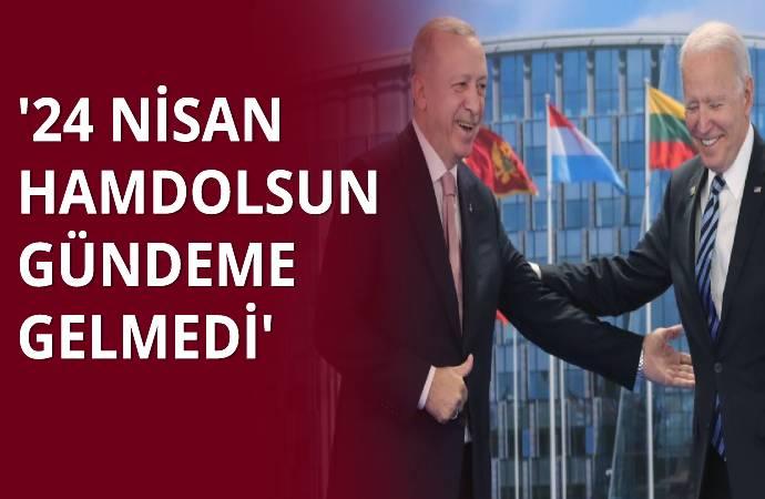 Erdoğan'dan bir gün arayla iki farklı '24 Nisan' yanıtı