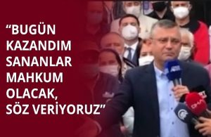 CHP'li Özgür Özel 301 canın karşılığında Can Gürkan'a 20 yıl hapis cezası verilmesine isyan etti!