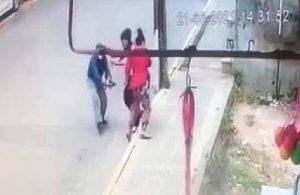 Eski eşine sokak ortasında silahla saldırdı!