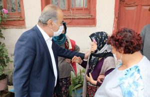 Türkyılmaz'dan Tirilye'ye geçmiş olsun ziyareti
