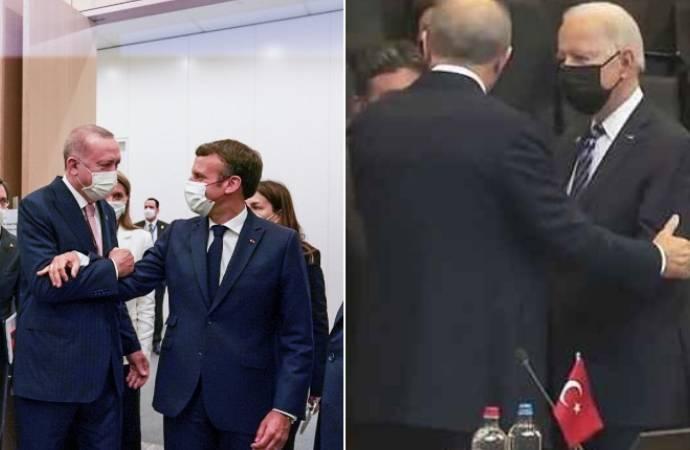 Erdoğan 'Tedaviye ihtiyacı var' dediği Macron ve 'Benim için tarih olur' dediği Biden'la…
