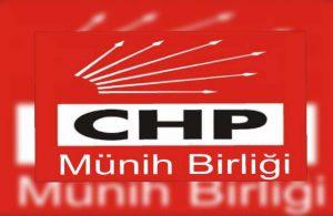 CHP Münih'ten yeni açıklama