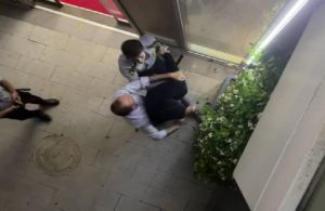 Nöbetten dönen doktor, güvenlik görevlileri tarafından darp edildi