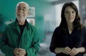 Aşının reklam yüzü Şener Şen ve Ezgi Mola oldu
