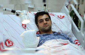 Saldırıya uğrayan doktor, bir santimetre ile felç olmaktan kurtulmuş!