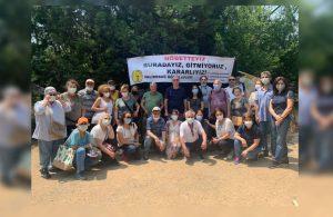 Validebağ'da 'Millet bahçesi' planlarına durdurma kararı
