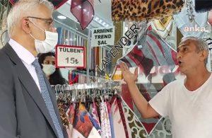 AKP'li esnaf: Tayyip Bey'in herhalde gözleri görmüyor artık