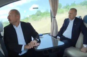 Erdoğan-Aliyev arasında Cengiz-Kolin diyaloğu