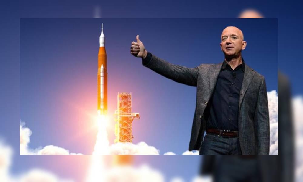 """Uzaya çıkacağını duyuran Jeff Bezos'a """"Dünyaya dönme"""" kampanyası"""