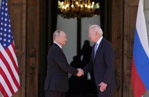 Kritik zirvesi sonrası Putin ve Biden'dan ortak bildiri