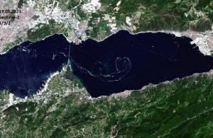 'Müsilaj' uydudan fotoğraflandı