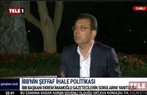 İmamoğlu'ndan Erdoğan'a uyarı: 'Kanal'ın temelini atmaya gidiyorum' diye düşünüyorsa yanılıyor