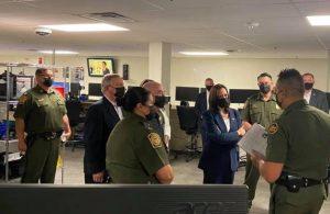 ABD Başkan Yardımcısı Kamala Harris'ten Meksika sınırına ziyaret