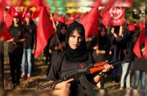 FHKC'den İsrail saldırısına karşı zafer geçidi töreni!