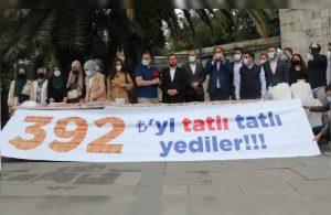 AKP'lilerden İBB'ye 'israf' protestosu