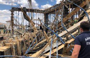 Ankara'da inşaatta göçük yaşandı