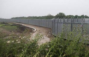 Yunanistan Meriç Nehri sınırında çelik duvar inşaatına başladı