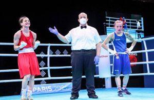 Milli boksör Busenaz Sürmeneli altın madalya aldı
