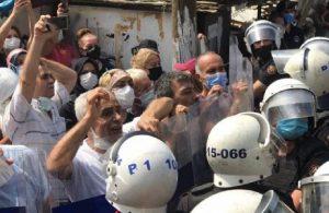 Tozkoparan'da polis müdahalesi