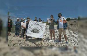 Bozcaada'da doğa tahribatı: Habbele Koyu talan edildi