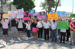 Gelibolu'da Saros Körfezi için eylem! Doğalgaz limanına tepki çığ gibi büyüyor