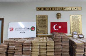 Ticaret Bakanı Muş: Mersin Limanı'nda 1 ton kokain yakalandı