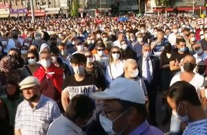 """AKP kanun teklifi verdi; Kırıkkale'de """"MKE'ye Sahip Çık"""" mitingi yapıldı"""