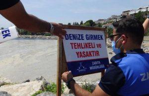 Darıca ve Tekirdağ'da denize girmek yasaklandı