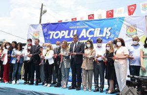 Tarsus Belediyesi 41 tesisi hizmete açtı