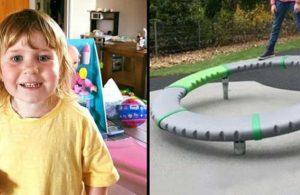 Trambolin üzerinde oynarken üzerine babası düşen çocuk hayatını kaybetti
