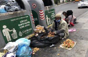 Evden atılan Güllüoğlu ailesi çöpteki yemeklerle besleniyor!
