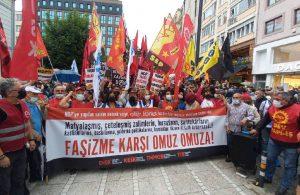 Katledilen Deniz Poyraz için Kadıköy'de eylem: Seçimle değil devrimle gidecekler