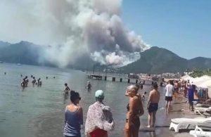 Marmaris'te orman yangını   Orman Genel Müdürlüğü: Bir personelimiz şehit oldu