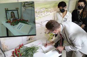 AB Büyükelçisi HDP İzmir İl Binası'na taziye ziyareti yaptı