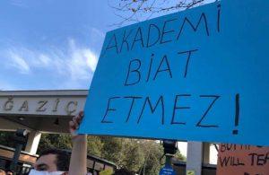 Boğaziçi Üniversitesi'nin senato toplantısında gerginlik: Seçilmiş senato üyeleri toplantıyı terk etti