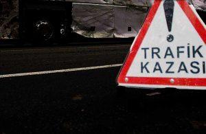 Antalya'da hatalı sollama kazası: 1 ölü, 2 yaralı