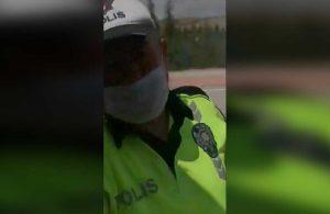 Maske takmayan polisleri uyaran gazeteci darp edildi