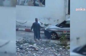 İzmir'de avukatın silahla tehdit edildiği anlar!
