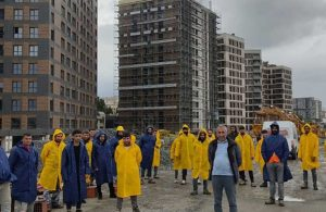 İşten çıkarılan işçiler isyan etti: Biz gurbetçiyiz, bizi dışarı attılar
