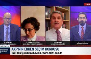 Aytun Çıray, AKP'nin bir sonraki seçim için oy oranlarını…