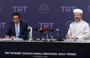 TRT Diyanet Çocuk Kanalı kuruluyor: Yıllarca çocuklarımıza kendi değerlerimizi tanıtamadık